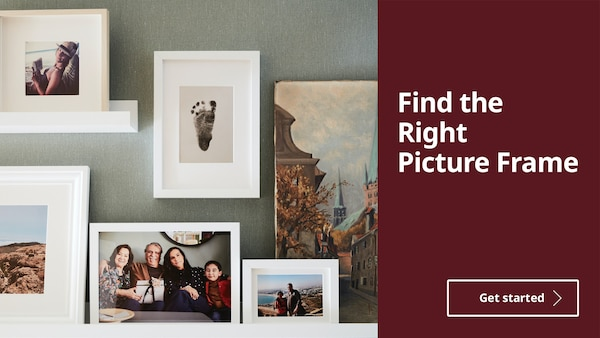 Find the Right Picture Frame
