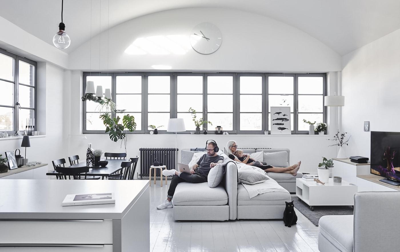 modulsofa arrangieren ikea. Black Bedroom Furniture Sets. Home Design Ideas