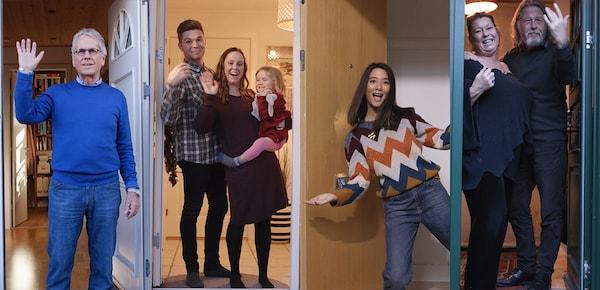 Fire Velkommen hjem familier