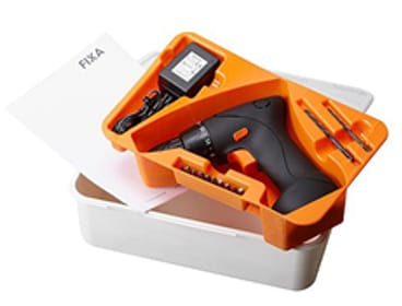 FIXA/フィクサ スクリュードライバー/ドリル、 リチウムイオンバッテリー 7.2V