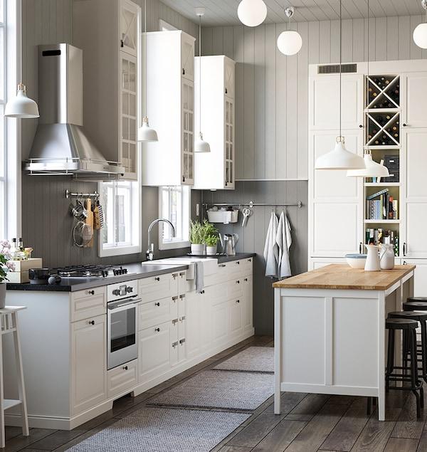 Flat pack kitchen DIY season