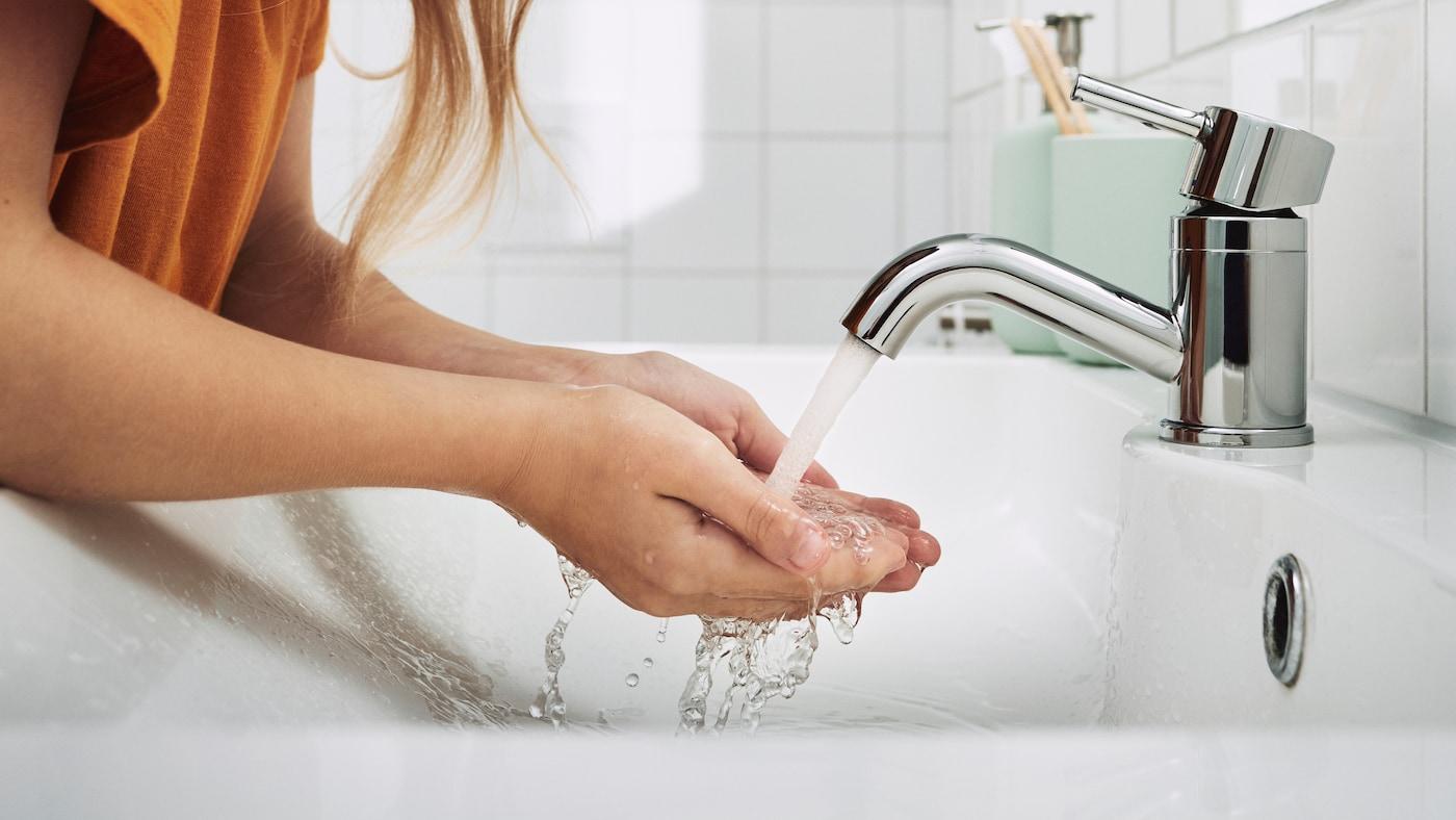 Fler sätt att använda mindre vatten