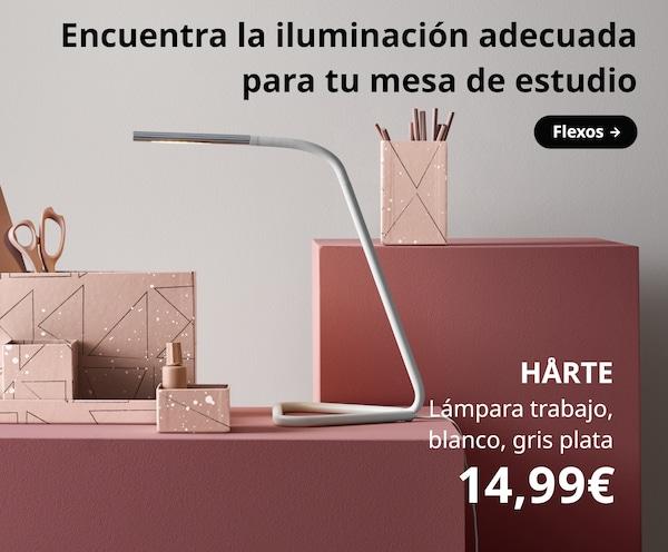 Flexos y lámparas de mesa