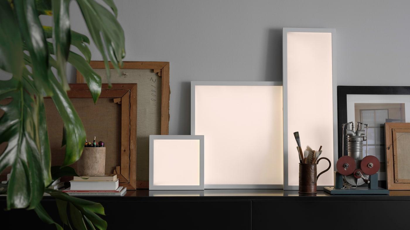 FLOALT smarta LED-ljuspaneler.