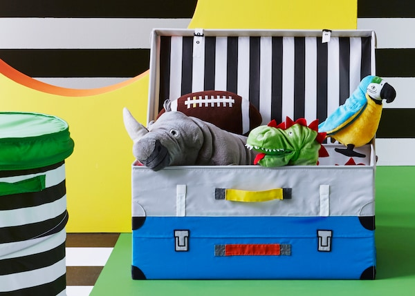 FLYTTBAR children's storage series.