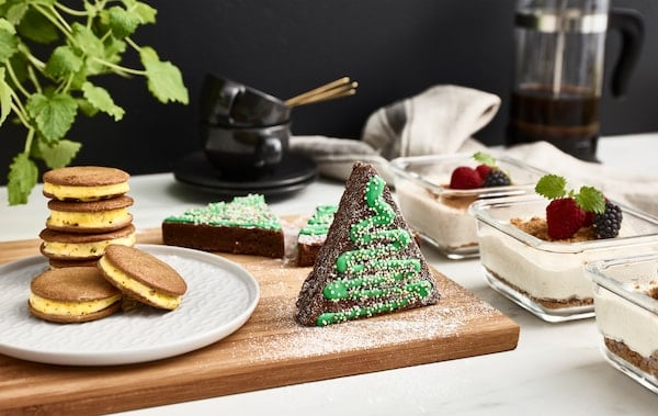 Forget last-minute baking for guests. This holiday season, be prepared with a few pre-made, frozen desserts that you can pull out when needed.