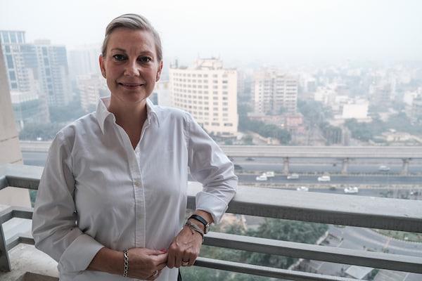 Foto d'Helene Davidsson, gerent de Sostenibilitat per a Àsia del Sud a IKEA Purchasing & Logistics.
