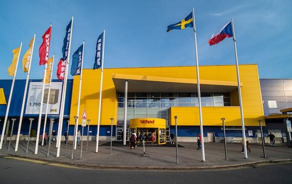 Fotografie obchodního domu IKEA ostrava.