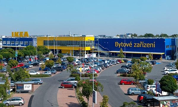Fotografie obchodního domu IKEA Praha – Zličín