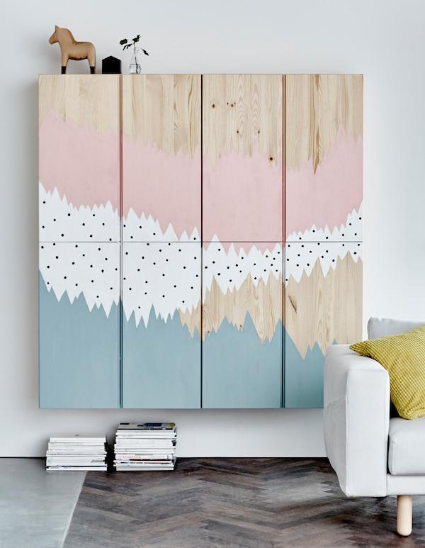 Ideer til IVAR skap IKEA