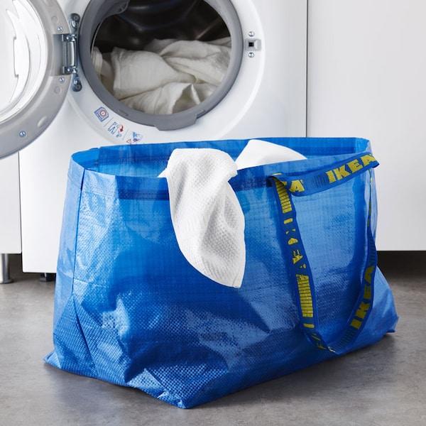 FRAKTA Grand sac, bleu.