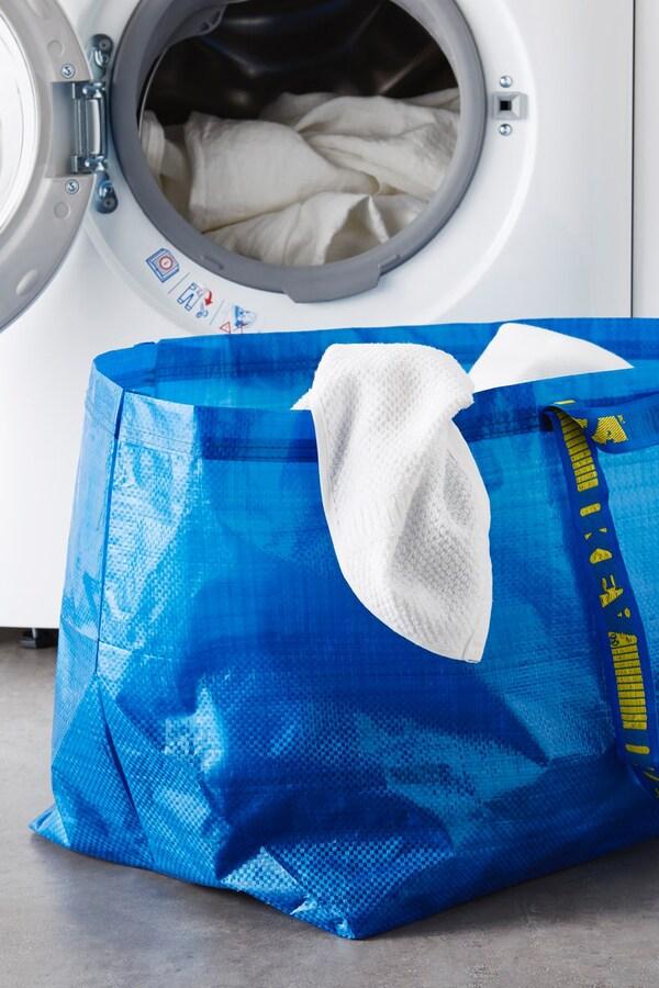FRAKTA Nákupní taška, velká, modrá