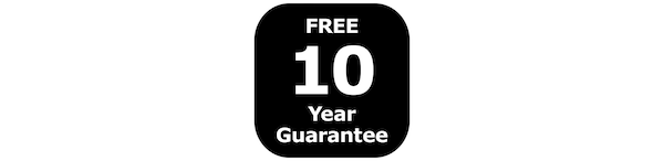 Free 10-year guarantee