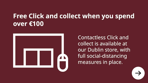 Free click & collect when you spend over 100 euros