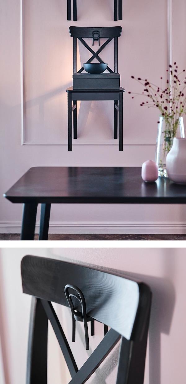 d6a1bf7a Frisk opp stua til jul. IKEA har mange moderne møbler, som IDOLF stol.