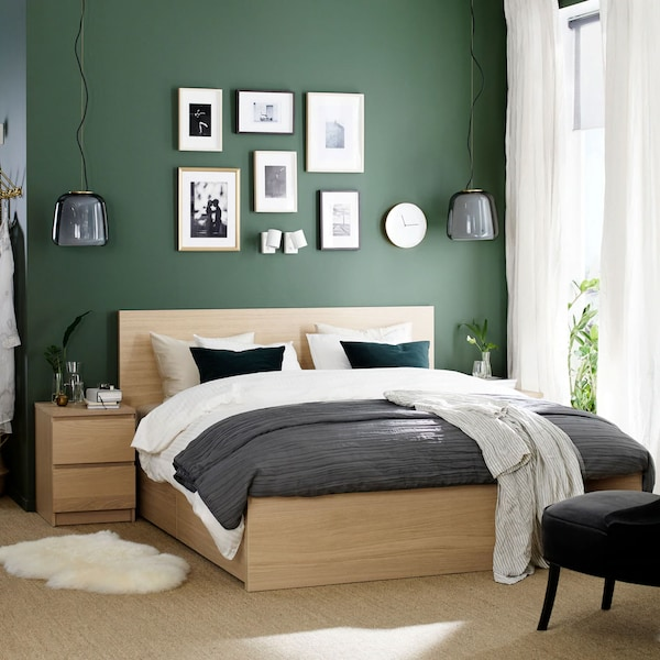 Frisse, schone en ontspannende tinten groen