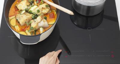 Función pausa de las placas de cocina