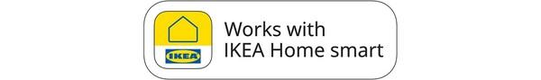Funguje se systémem IKEA Home smart
