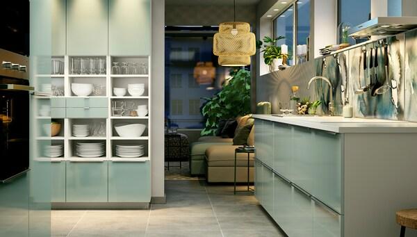 Funktionale Kuche Mit Modernem Design Ikea