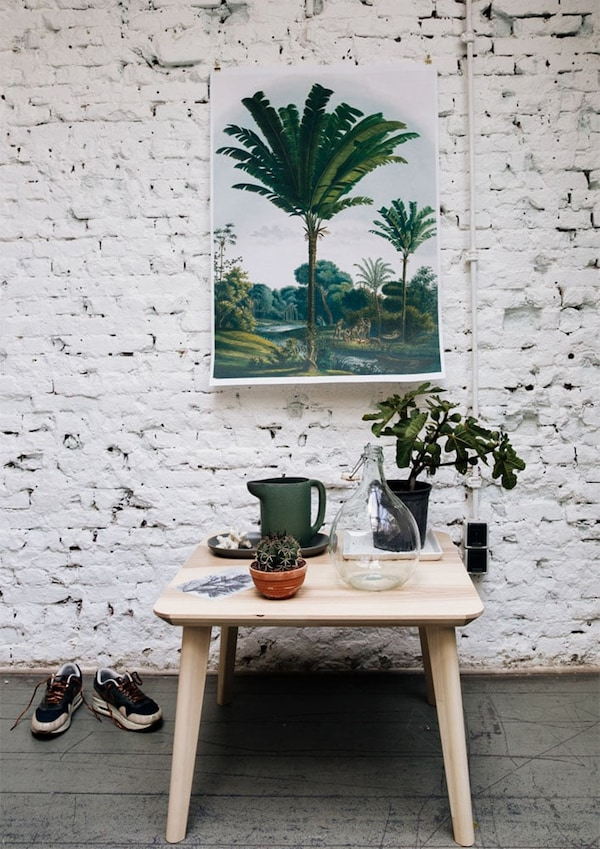 Furnishing a living room — LISABO coffee table — layout tips — IKEA interior inspiration
