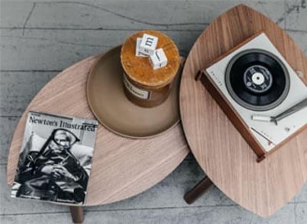 Furnishing a living room — STOCKHOLM side table — IKEA interior inspiration