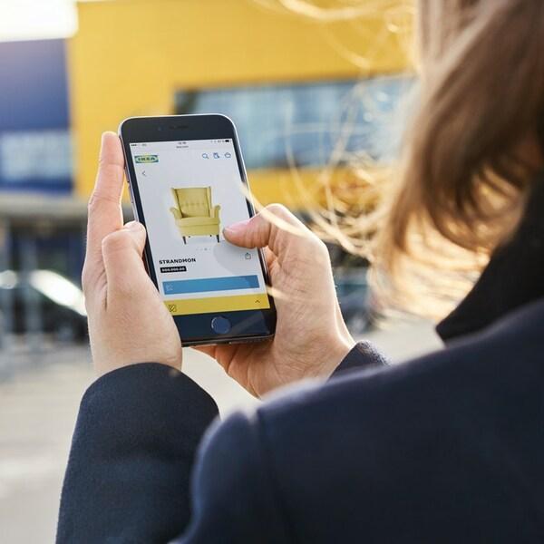 Gagnez du temps en magasin avec l'appli IKEA Store