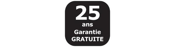 Garantie 25 ans garantie