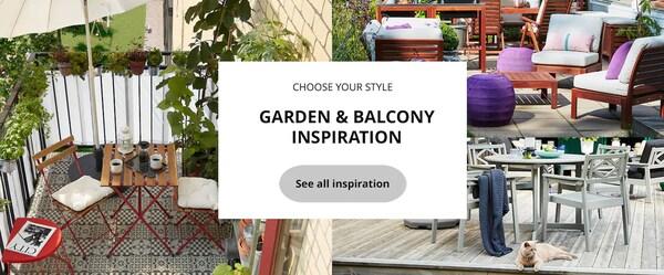 garden and balcony inspiration styles ikea