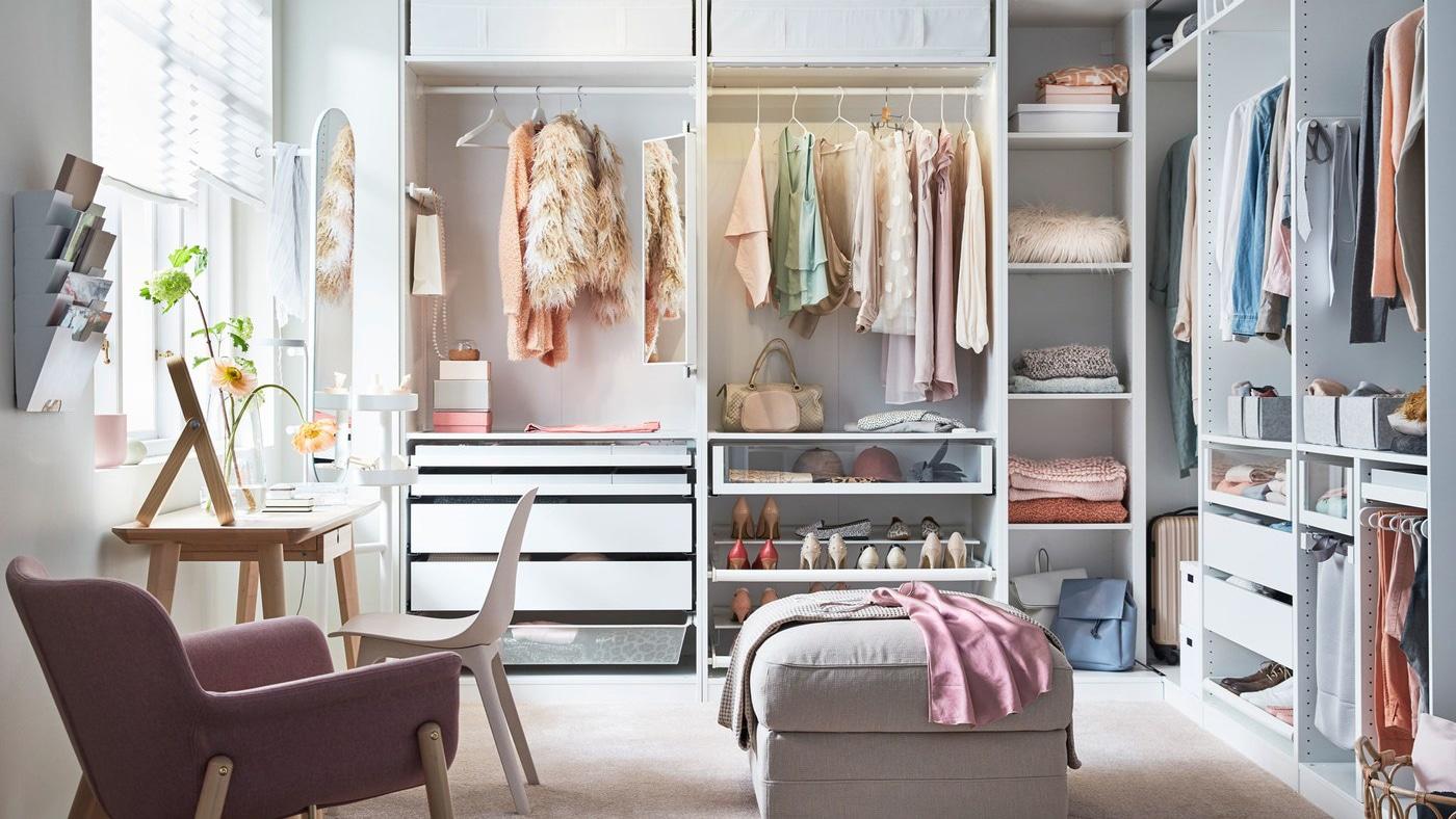 Komplement Garderobsinredning Ikea