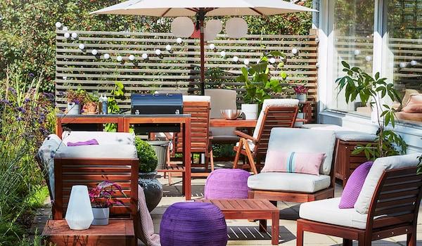 Garten und Balkon