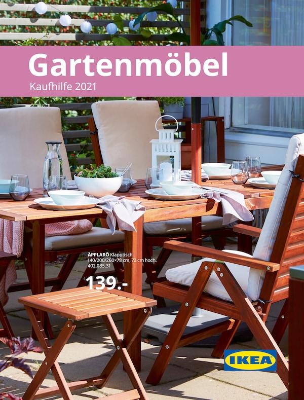 Gartenmöbel Kaufhilfe 2021