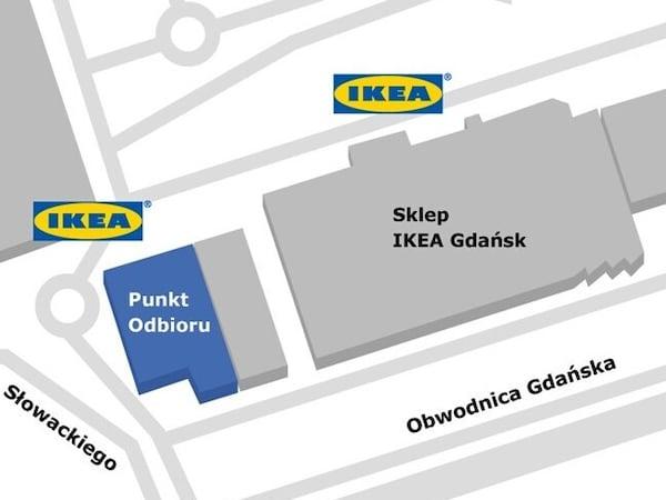 Gdańsk - Punkt Odbioru Zamówień w sklepie IKEA