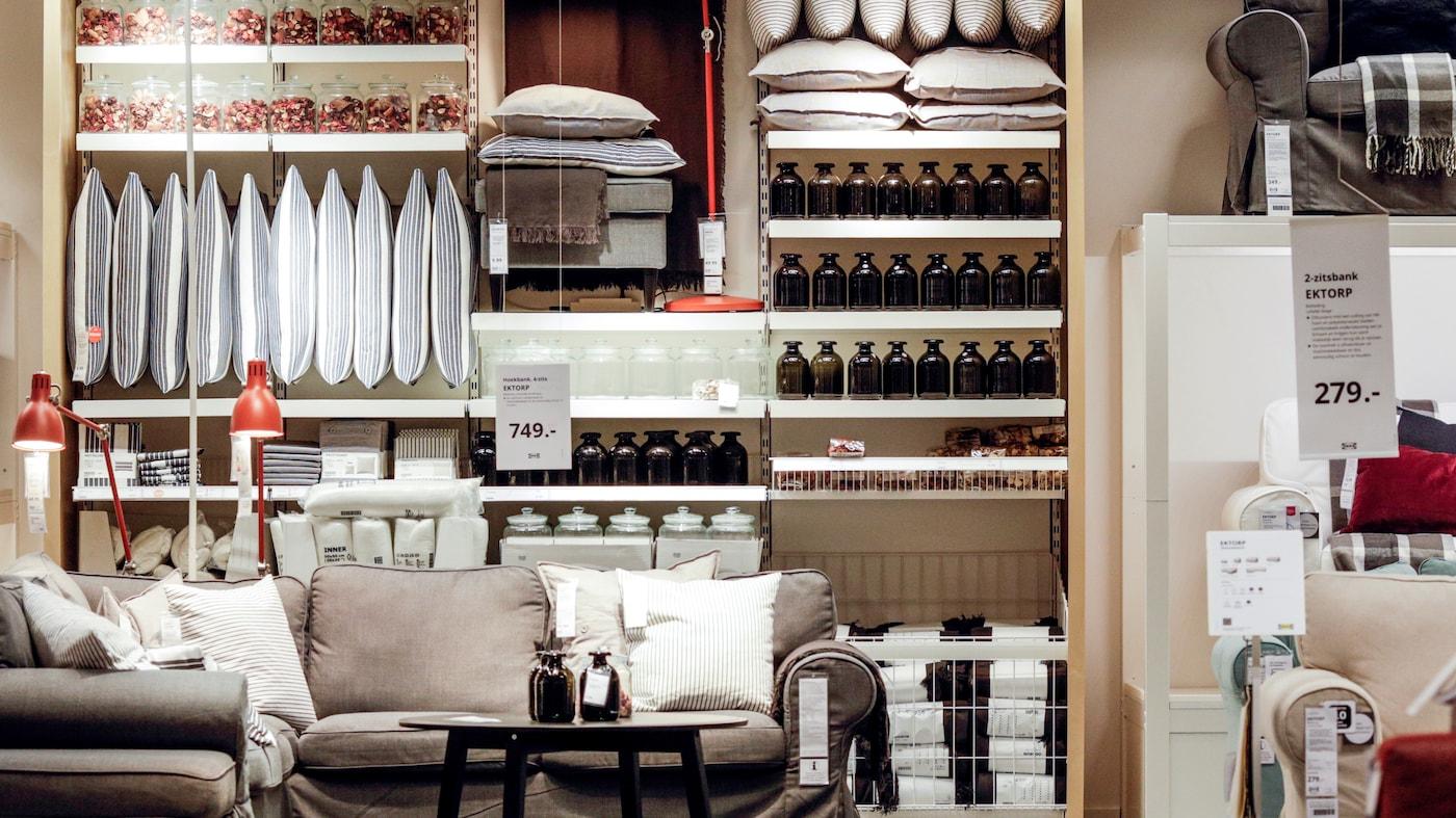 geheel verbouwde winkel van IKEA Groningen
