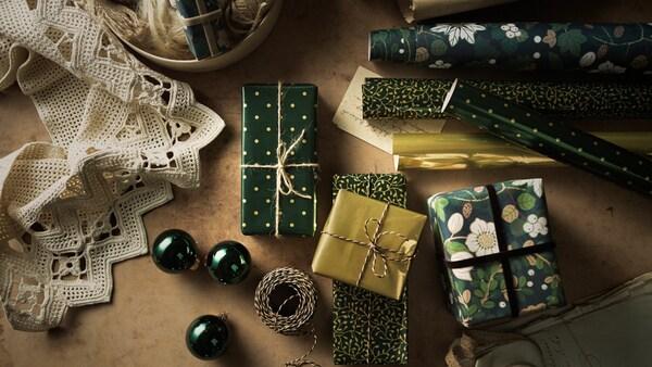Geschenkpapier und Zubehör