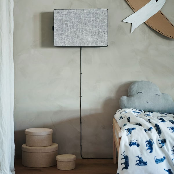 Get better air quality at home with FÖRNUFTIG air purifier.