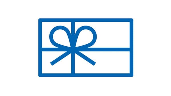Gift card pictogram