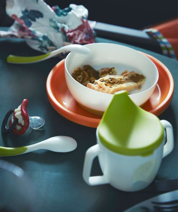 Give the little ones tableware that's kid-friendly but  still fits in at the grown-up table.