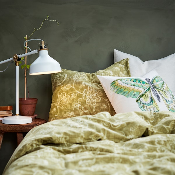 Give your bedroom an organic, textured feel that blends the boundary between the outside world and the indoors with our great value range of organic motifs and textured cottons.
