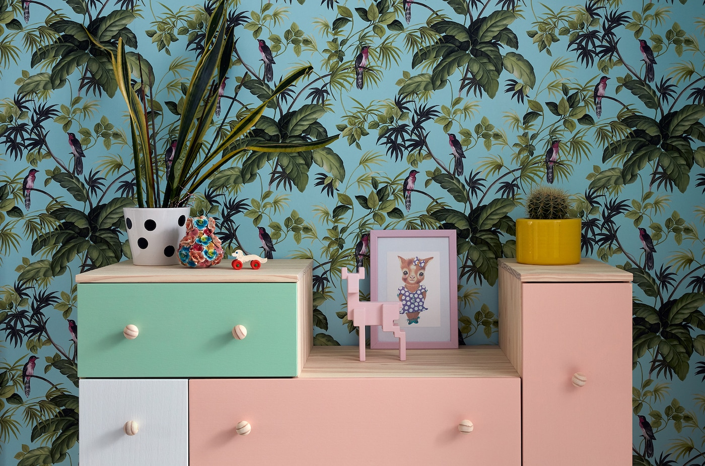 Give your furniture a makeover with paint.