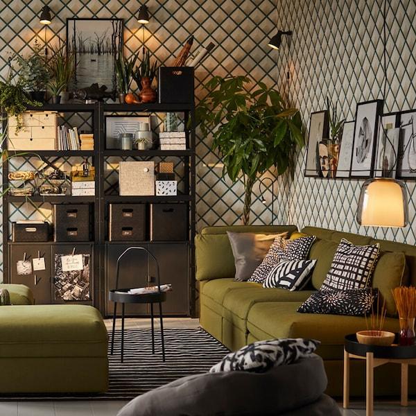 Idee Per Arredare Il Soggiorno Ikea
