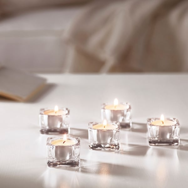 GLIMMA unscented candles