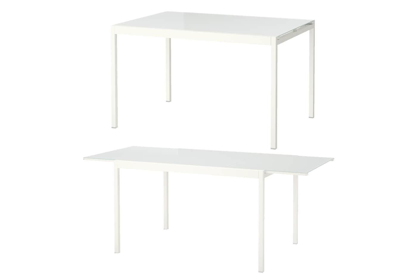 GLIVARP/グリヴァルプ 伸長式テーブル ホワイト