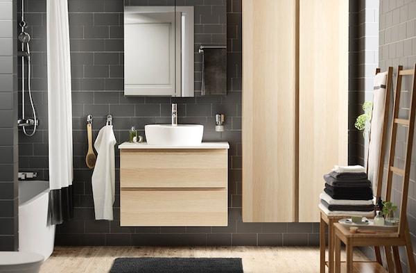 Ikea Mobili Bagno Lavandino.Arredo Per Il Bagno E Mobili Lavabo Ikea