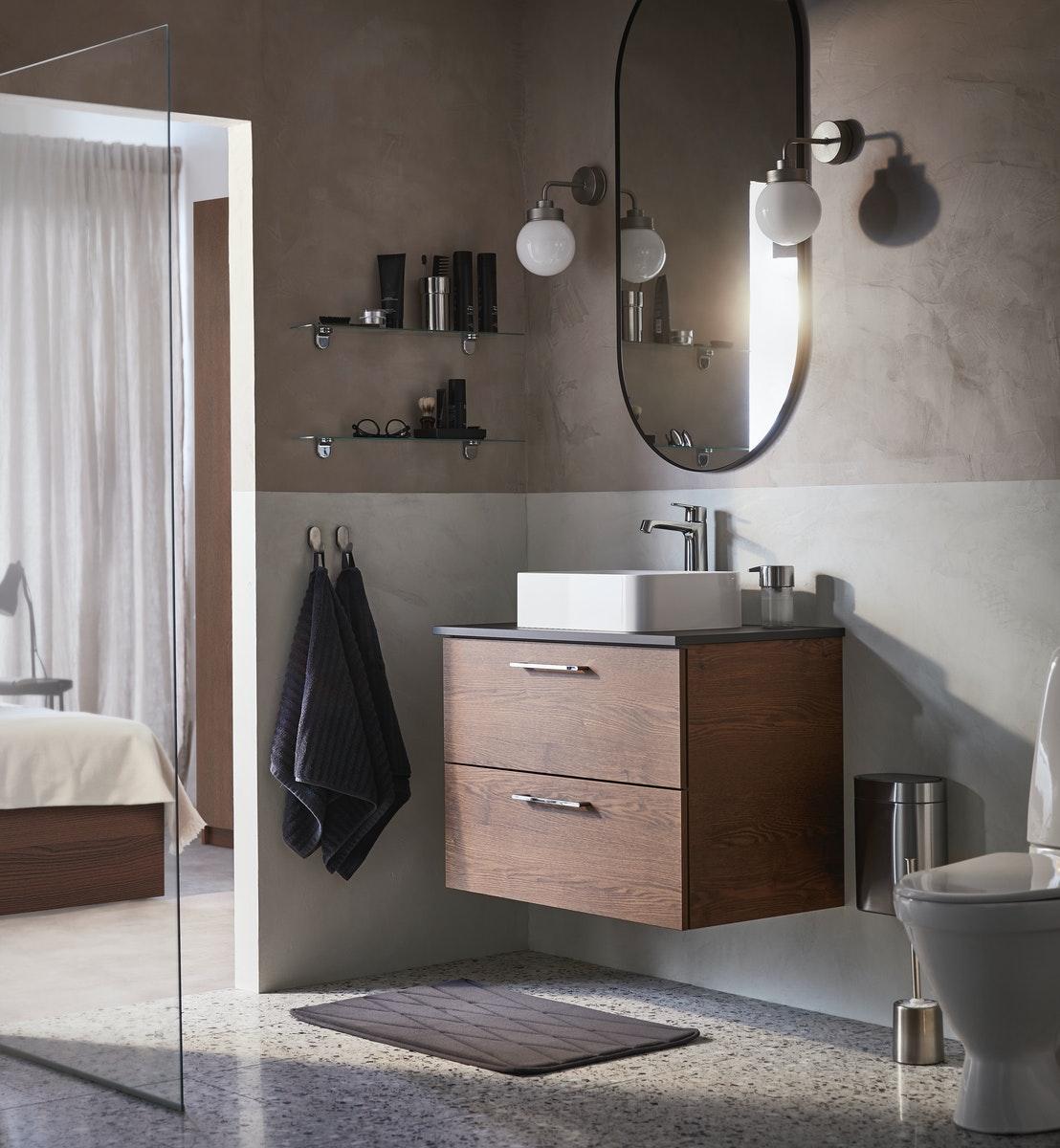 GODMORGON serie af badeværlsesmøbler i høj kvalitet.
