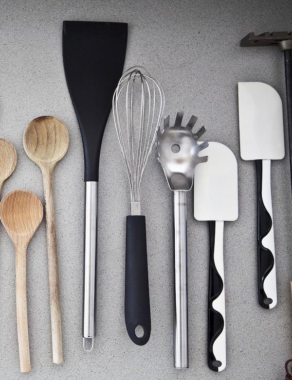 Gør det nemt at finde dine køkkenredskaber