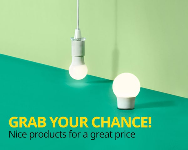 Grab your chance IKEA