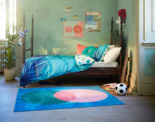 GRACIÖS sengesett, puter og teppe.