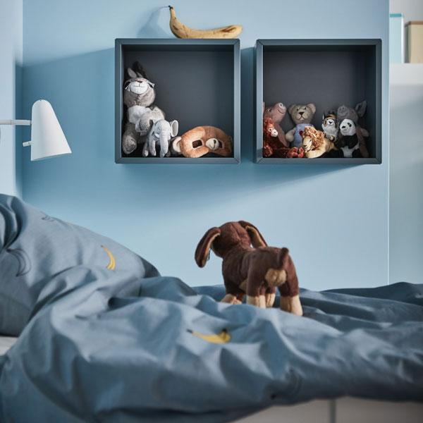 Grandir en beauté (et en ordre).Découvrez des idées d'organisation pour la chambre de votre enfant.