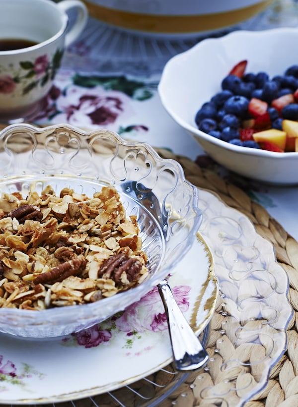 Granola is a simple, tasty way to start your day