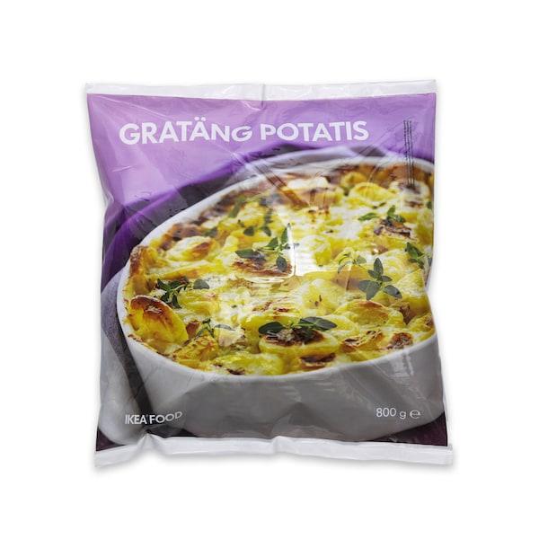GRATÄNG POTATIS Potatoes au gratin, frozen